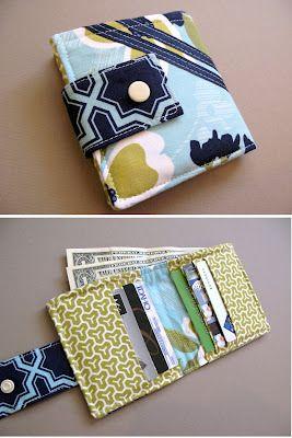 Bi-fold wallet tutorial