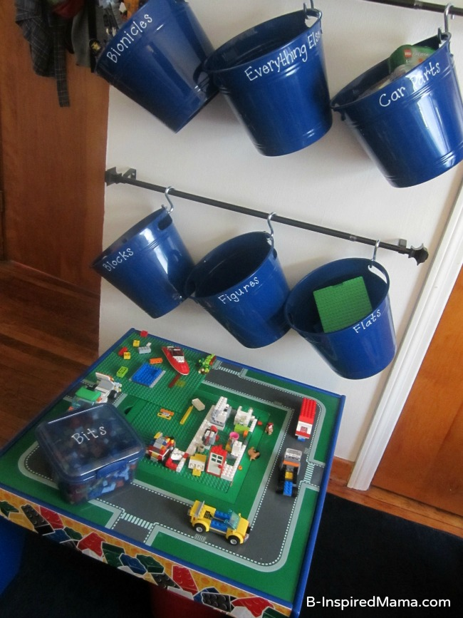 lego toy storage - tons of other great toy storage solutions!