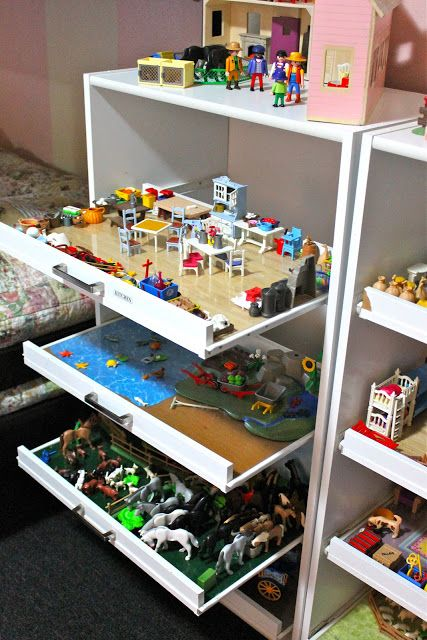 Tons of great toy storage ideas!
