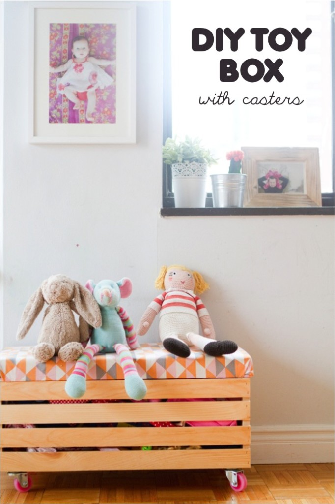 Make This Cute Toy Box. Tons Of Other Great Ideas For Toy Storage!