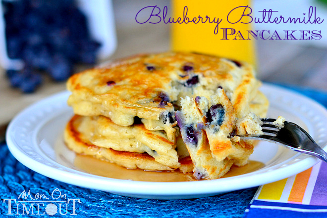 blueberry buttermilk pancakes and tons of other great pancake recipes