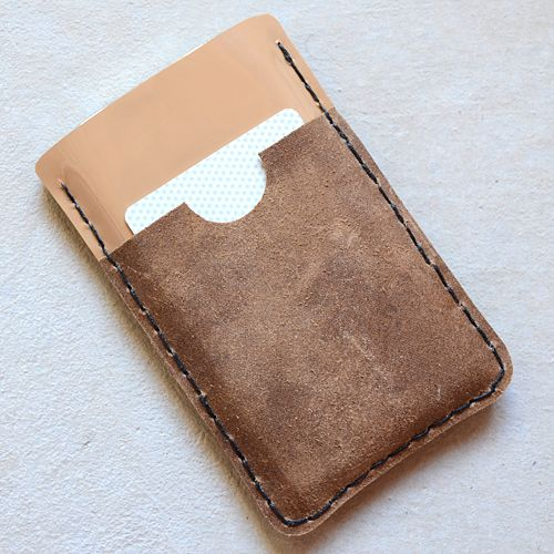 leather iphone wallet tutorial
