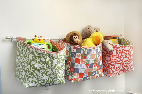 Sew these fabulous hanging baskets!