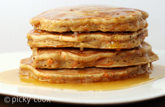 Carrot pancakes and tons of other healthy pancake recipes