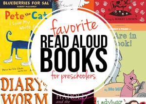 GREAT list! Favorite books for preschoolers.