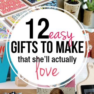 Gifts to make for moms and teachers!
