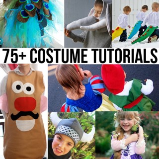 75+ DIY Halloween Costume Tutorials Roundup