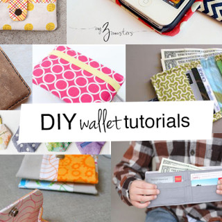 The best DIY wallet tutorials