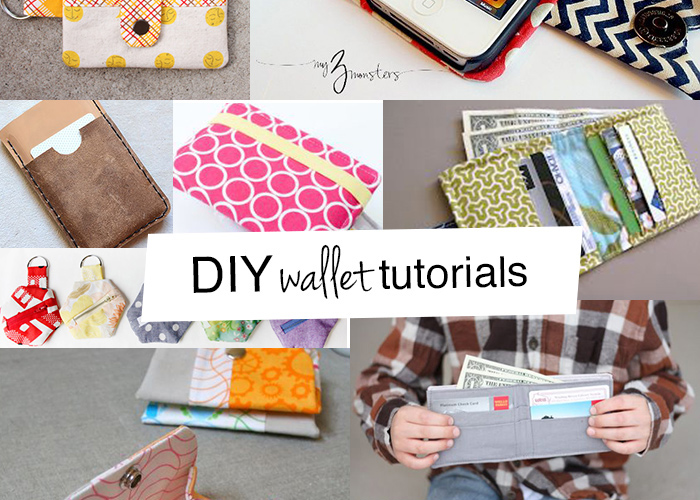 The best DIY wallet tutorials - Andrea\'s Notebook