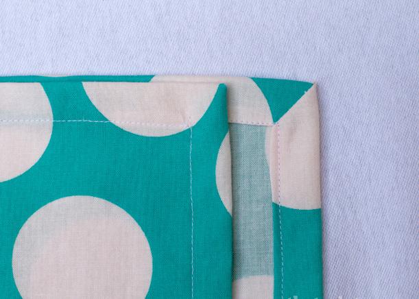 Easy cloth napkin tutorial