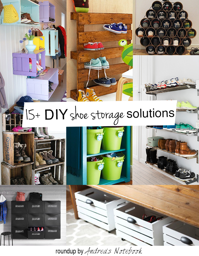 15+ DIY shoe storage and organization ideas for families! These are ...
