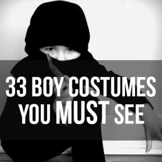 33 boy costume tutorials you MUST see