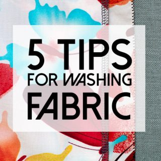 5 fabric washing tips