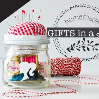 DIY gifts in a jar