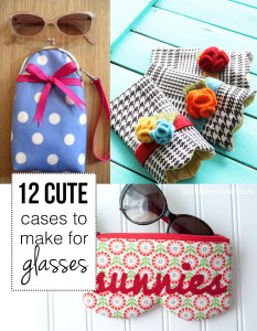 12 cute cases to make for your glasses