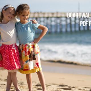 Boardwalk Skirt PDF pattern giveaway