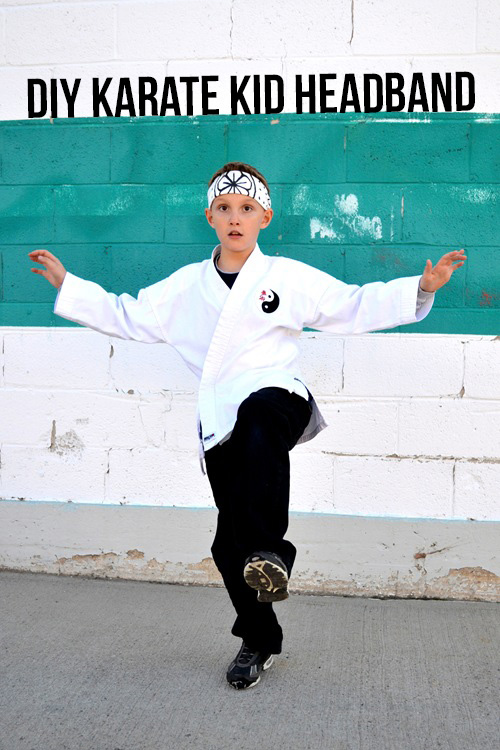Make a Karate Kid Headband with this great tutorial
