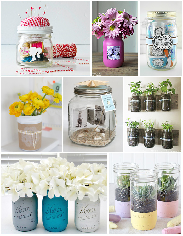 Easy DIY gifts for Mom in a jar
