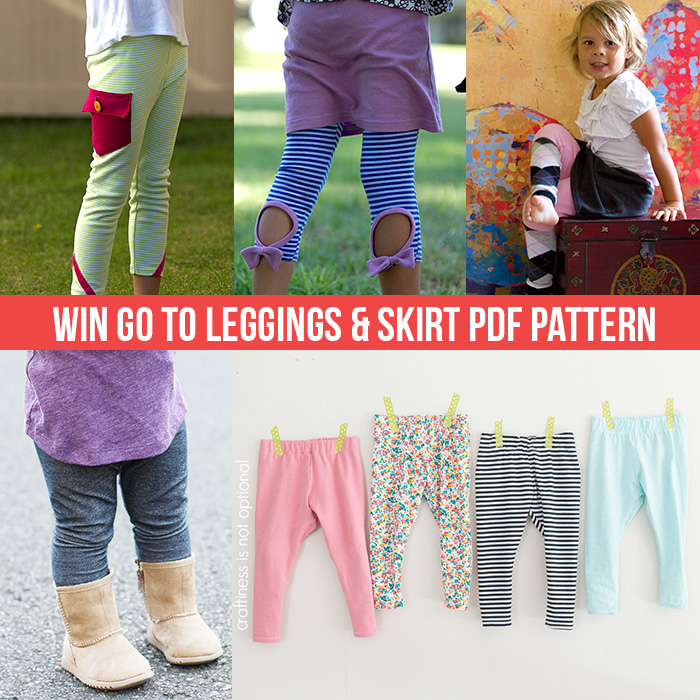 Go To Leggings PDF pattern
