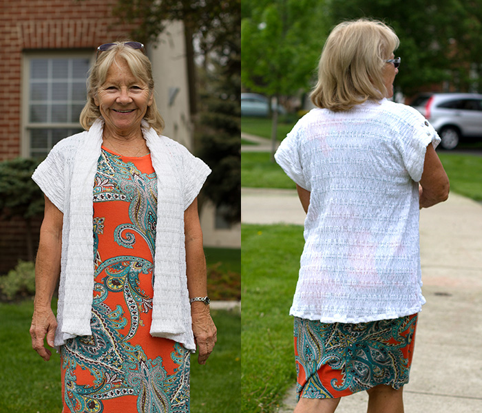 Ojai Wrap & Casual Lady Dress patterns. So flattering!