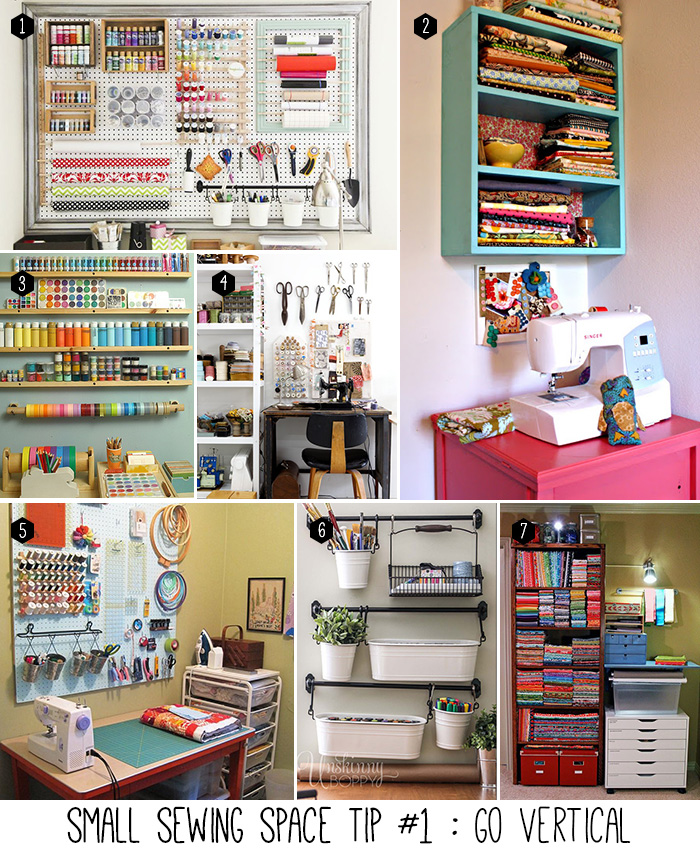 Small Sewing Space Tip #1 of 5