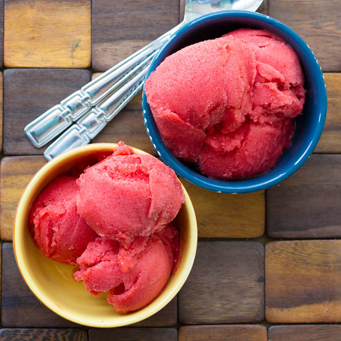 Delicious Strawberry Sorbet Recipe!