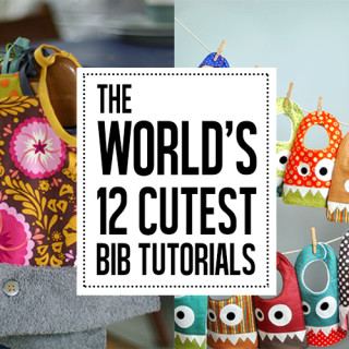 12 of the cutest bib tutorials ever