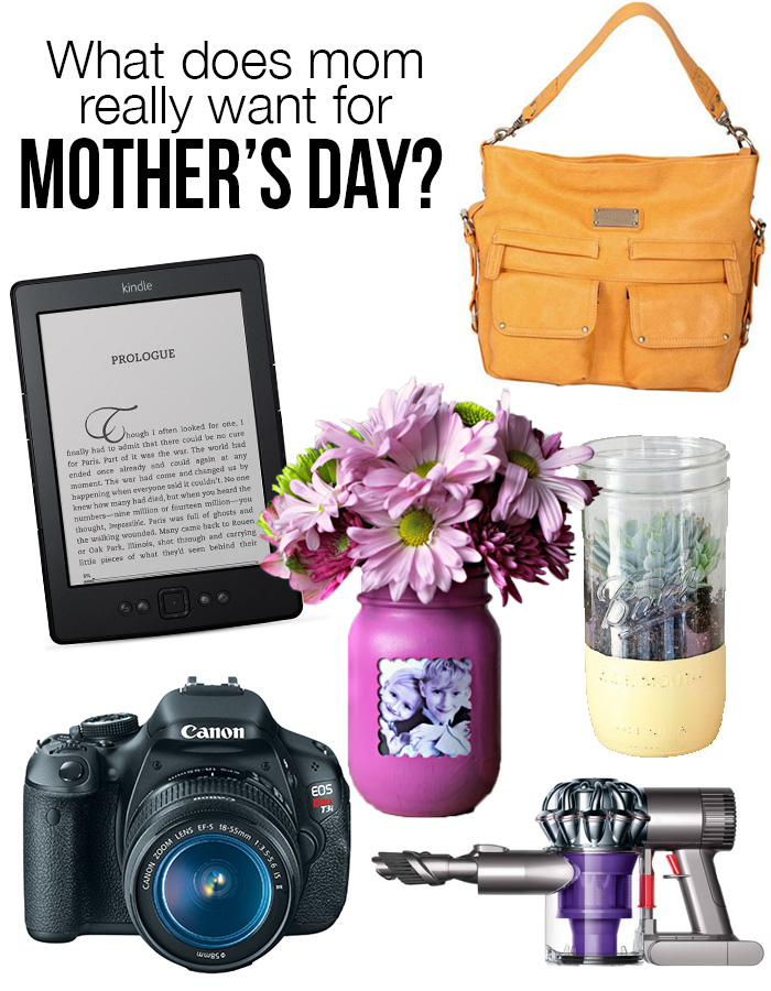 What does mom really want for Mother's Day?