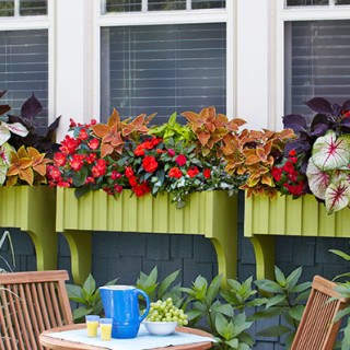 How to make wood window boxes