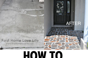 How to make your concrete look like beautiful stone!