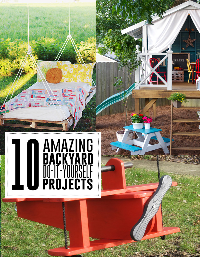 Backyard diy projects outdoor goods 10 amazing backyard do it yourself projects youll love solutioingenieria Choice Image