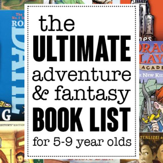 Adventure and fantasy reading list for early readers ages 5-9