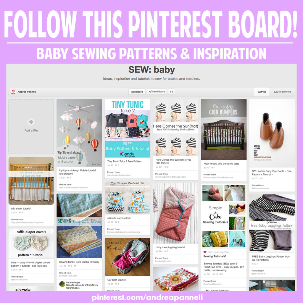 The ultimate source of baby sewing inspiration!