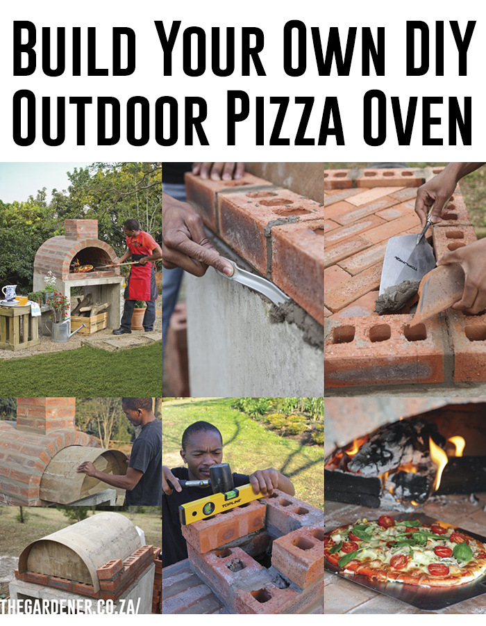 ... step by step to make your own DIY pizza oven. Anyone can build this