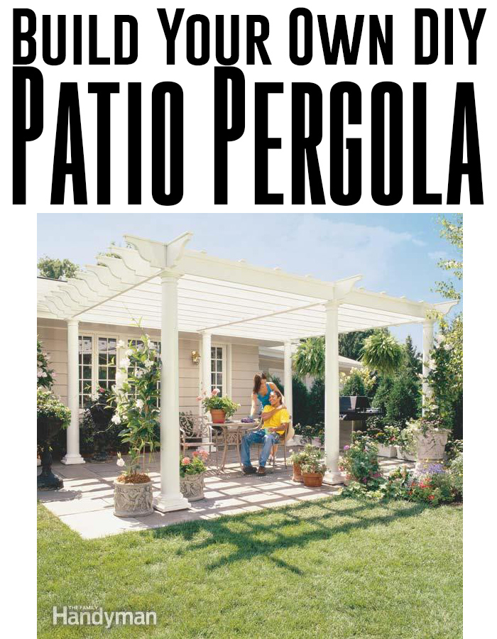 Planning & Ideas Tips To Make Your Own Curtains : Build Your Own Backyard DIY Pergola