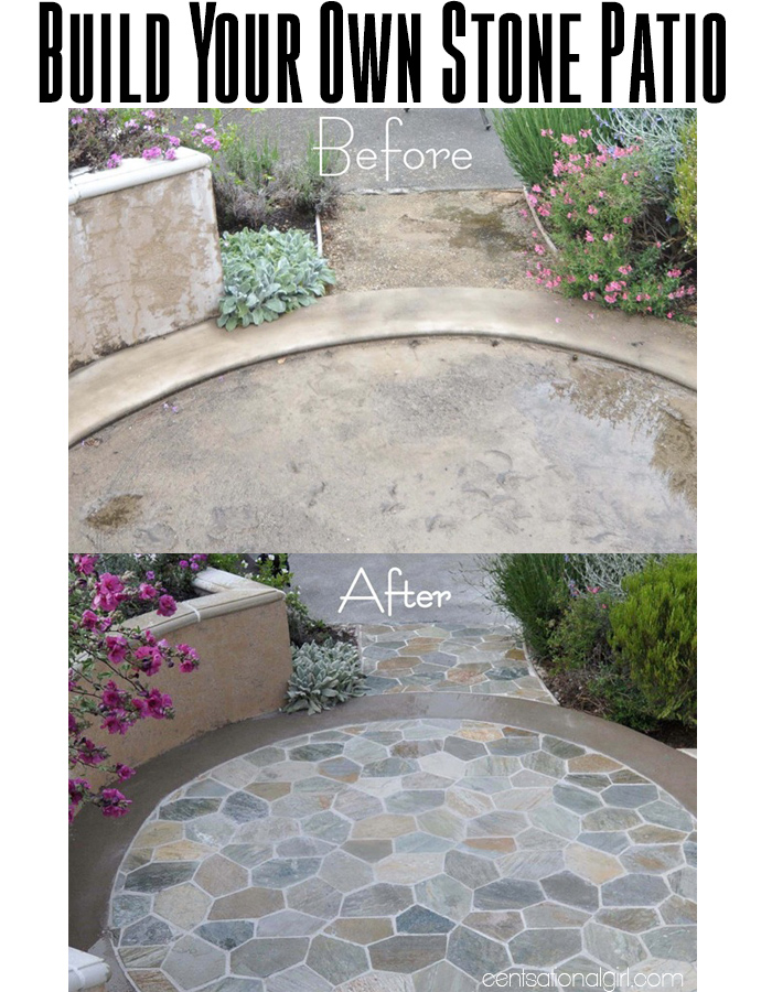 How to build your own stone patio