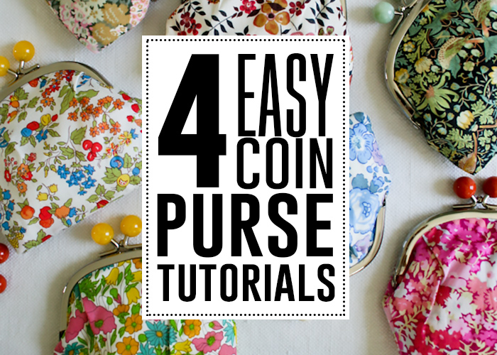 easy coin purse tutorials