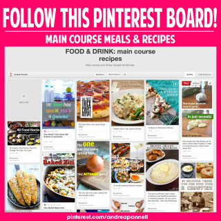 Love to eat? Follow this Pinterest board