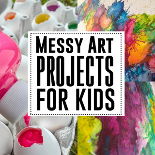 The best messy art projects for kids