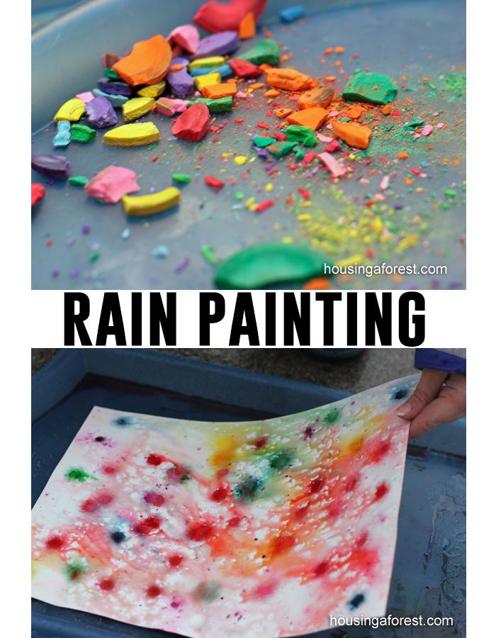 Rain painting tutorial