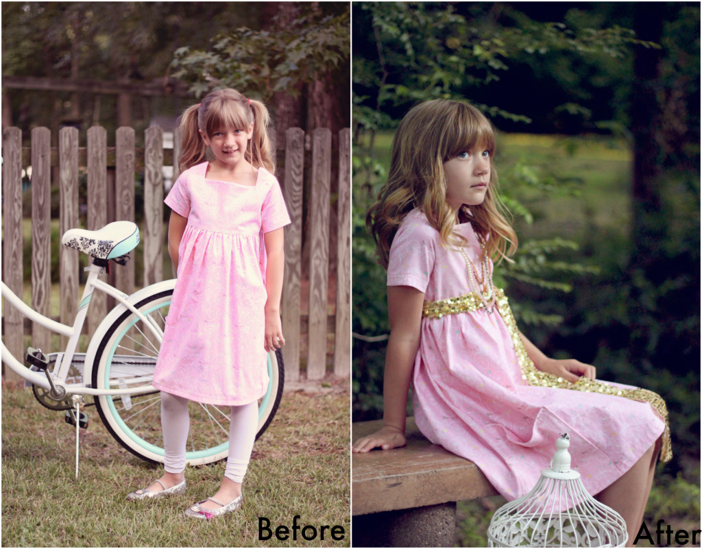 Style That Kid before & after!