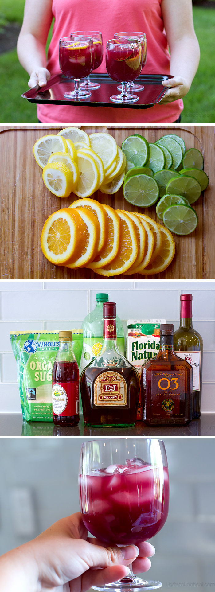 The BEST sangria recipe!