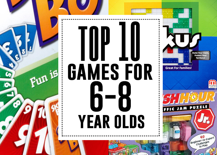 games to play with 8 year olds