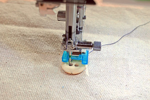Sew button on with a machine - and tons of other sewing hacks!