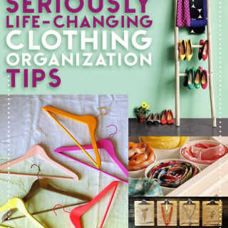 54 life changing clothing organizing tips