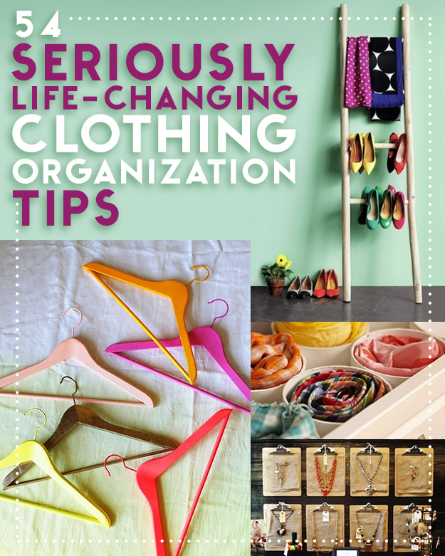 So many great tips for organizing!