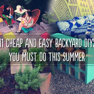 Amazing backyard DIY projects