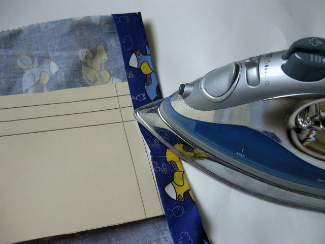 easiest way to iron a hem accurately