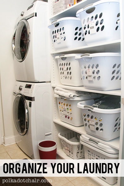 Great Ideas To Organize Your Laundry Room