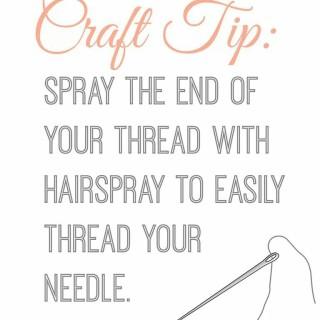 Easy needle threading